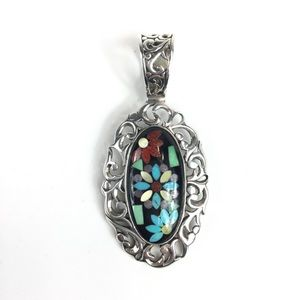 Carolyn Pollack Relios Sterling Silver Pendant